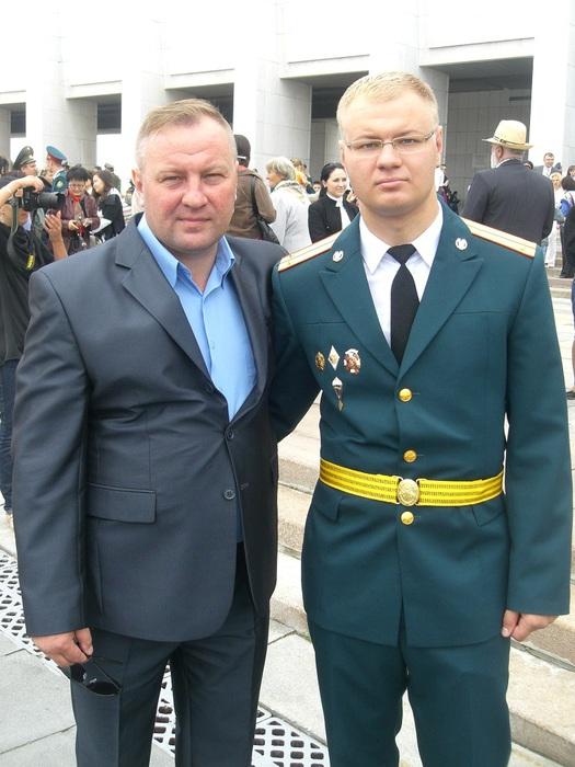Отец и сын Будановы