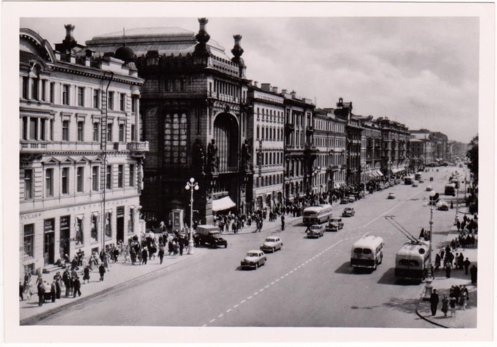 leningrad_Nevskiy_prospekt_1956