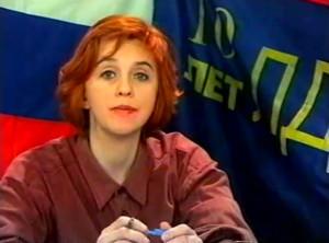 Журналист Ольга Журавлёва