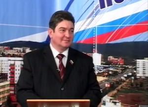 Первый председатель Думы г.Братска Эдуард Дёмин