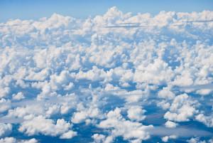 В сладких облаках