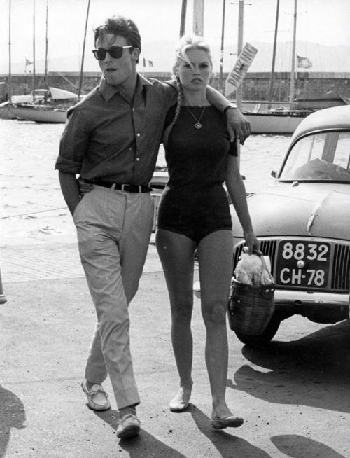 Ален Делон и Бриджит Бардо, 1968 год