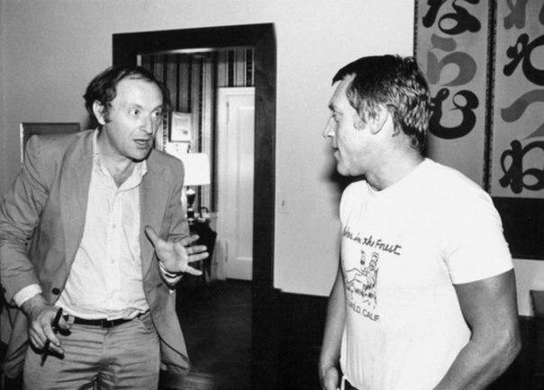 Иосиф Бродский и Владимир Высоцкий, Нью-Йорк, 1979 год