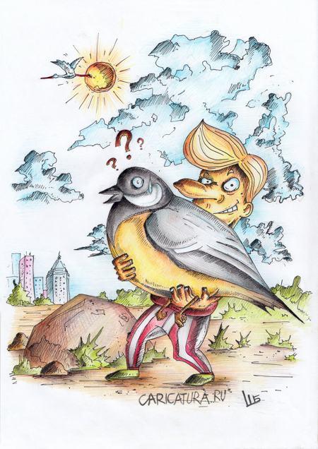 karikatura-luchshe-sinica-v-rukah-chem-zhuravl-v-nebe_(shura-burik)_19813
