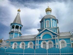 Православные храмы Братска